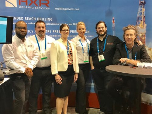 OTC 2017 HXR Team From Left to Right: Ekene Okoye, Mike Whitlatch, Julie Kowan, Nicole Lee, Joseph Longo & Scott Marsteller