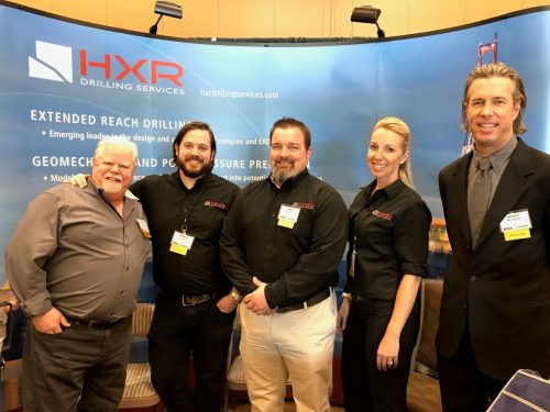 AOGA 2017 HXR Team From Left to Right: Nick Scales, Joseph Longo, Mike Whitlatch, Nicole Lee & Scott Marsteller
